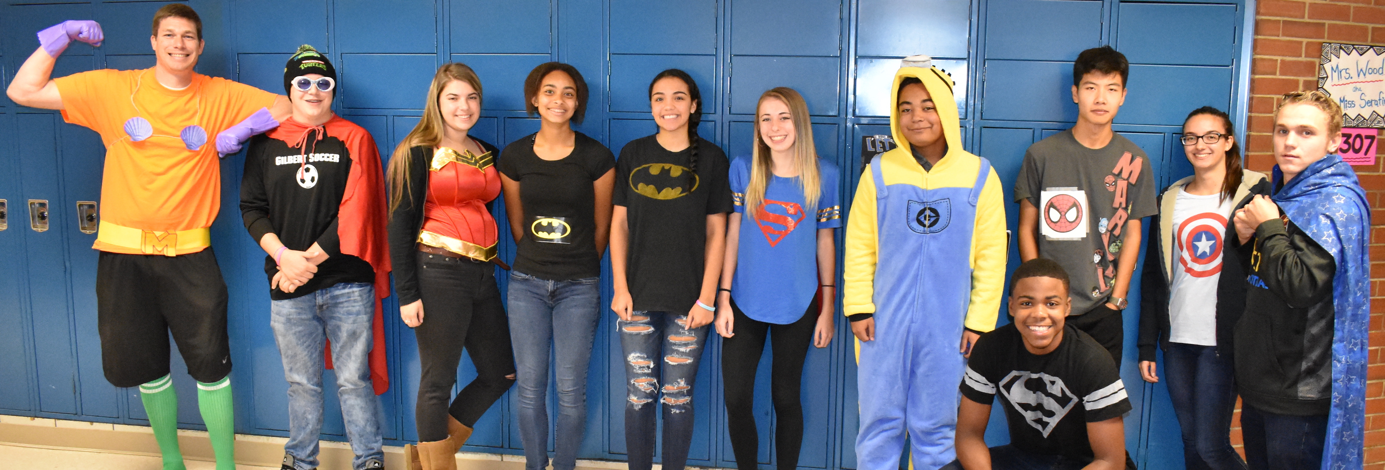 Super Heroes vs. Villains Day 2017
