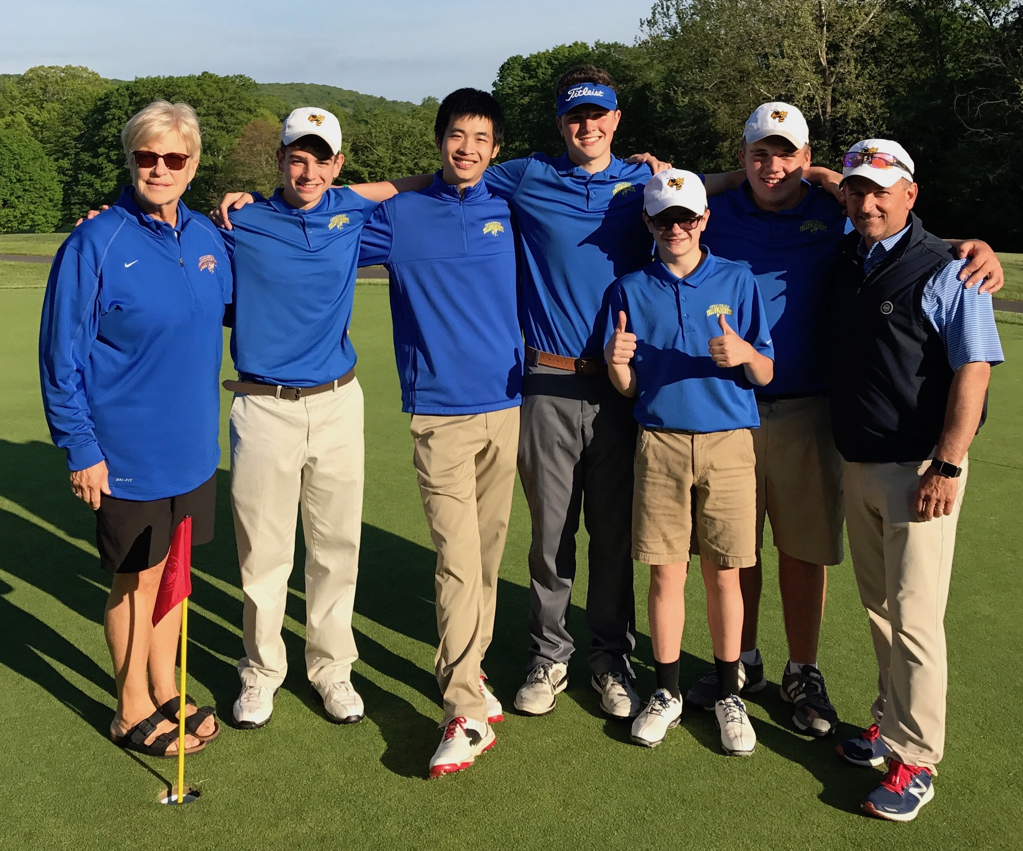 2017 Berkshire League Golf Champions