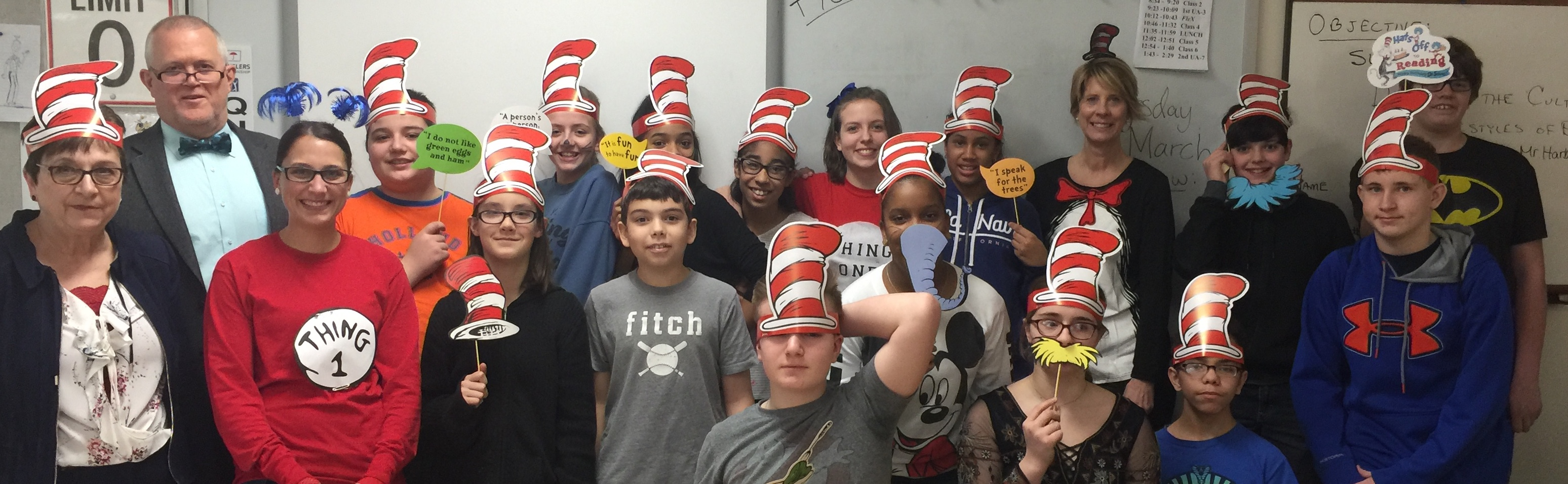 Dr. Suess Day 2017